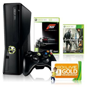 Xbox 360 Console S 250GB Holiday Value Bundle