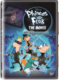 Phineas And Ferb: Across The 2nd Dimension(2011)(DVD)