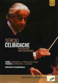 Prokofiev/Dvoraksergiu Celibidache in - (Region 1 Import DVD)