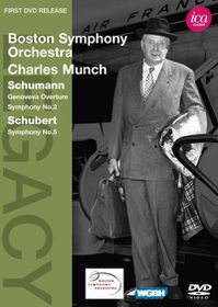Schumann/Schubert:Munch & Bso Ica Cla - (Region 1 Import DVD)