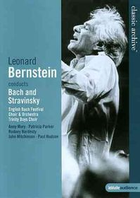Bach/Stravinsky:Bernstein Conducts Ba - (Region 1 Import DVD)