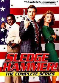 Sledge Hammer:Complete Series - (Region 1 Import DVD)