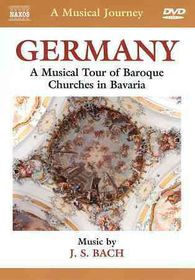 Bach, J.s. / Rubsam - A Musical Journey - Germany: A Musical Tour Of Baroque Churches In Bavaria (DVD)