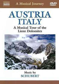 Schubert / Stuttgart Piano Trio - A Musical Journey - Austria & Italy: A Musical Tour Of Lienz Dolomites (DVD)