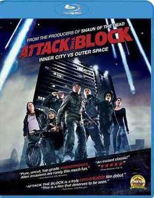Attack the Block - (Region A Import Blu-ray Disc)