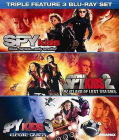 Spy Kids Triple Feature - (Region A Import Blu-ray Disc)
