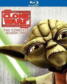 Star Wars:Clone Wars Season Two - (Region A Import Blu-ray Disc)