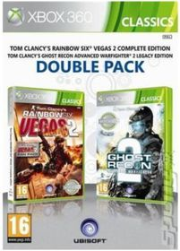 Ghost Recon Advanced Warfighter 2 + Rainbow Six Vegas 2 Compilation (Xbox 360 Classic)