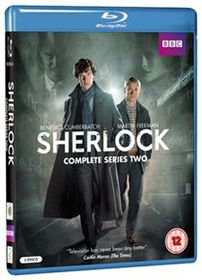 Sherlock Series 2 (Import Blu Ray)