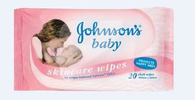 Johnson & Johnson - Scented Wipes 20's
