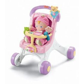 Fisher Price - Brilliant Basics - My Play Stroll Along Walker