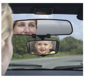 Safety 1st -  Baby On Board Flip-Down Childview Mirror