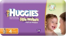 Huggies - Little Walkers Size 4 34
