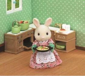 Sylvanian Family Kitchen Cooking Set