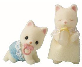 Sylvanian Family - Silk Cat Twins