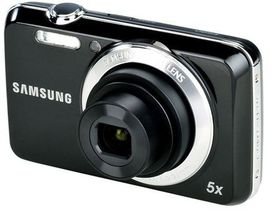 Samsung ES90 Compact Digital Camera Bundle - Black