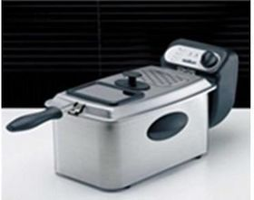 Salton - 3.5 L Deep Fryer - Stainless Steel