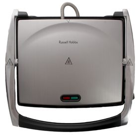Russell Hobbs - Sandwich Press - Brushed Chrome