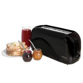 Mellerware - 4 Slice Cool Touch Toaster - Black