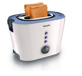Philips - 2 Slice Toaster - 850 Watt - White