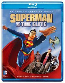 Superman Vs The Elite - (Region A Import Blu-ray Disc)