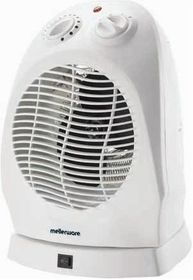 Mellerware - Oscillating Fan Heater - 2000 Watt