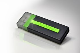 AirStash Wireless Flash Drive - for iPad iPhone and iPod Touch - 16GB
