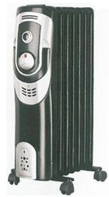 Sunbeam - Oil Filled Radiator - 9 Fin - Black