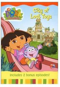 Dora The Explorer City of Lost Toys (DVD)