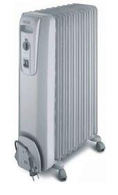 Delonghi - Oil Fin Heater - 7 Fin - Grey - KH770715