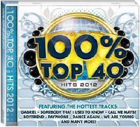 100% Top 40 Hits 2012 - Various Artists (CD)