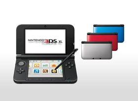 3DS XL Console Black and Blue (3DS XL) 