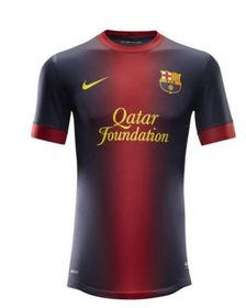 Mens Nike FC Barcelona Home Replica Jersey