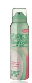 Mitchum Advanced Control For Women Aerosol Powder Fresh