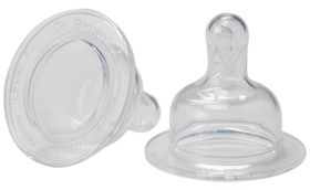 Dr Brown's - Wide-Neck Level-3 Silicone Nipple
