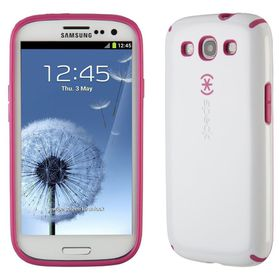 Speck CandyShell - for Samsung Galaxy S3 - White Rasberry