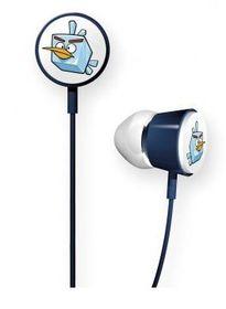 Angry Birds - Ice Bird Tweeter In Ear Headphones