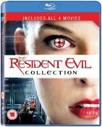Resident Evil: 1-4 Collection (Import Blu-ray)