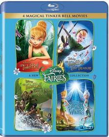 Tinkerbell 1 - 4 Box Set (Blu-ray)