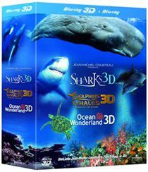 Jean-Michel Cousteau's Film Trilogy in 3D (Import 3D Blu-ray)