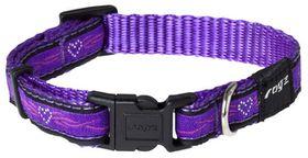Rogz Fancy Dress Small Jellybean Dog Collar - Purple