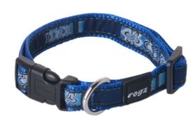 Rogz Fancy Dress Small Jellybean Dog Collar - Navy