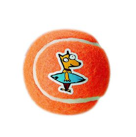 Rogz - Dog Molecule Gluon Ball - Small 5cm - Orange