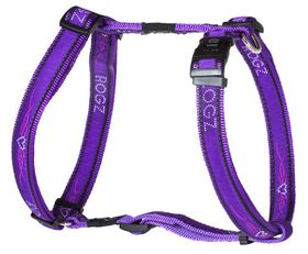 Rogz - Fancy Dress Extra-Large Armed Response Dog H-Harness - Purple