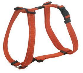 Rogz - Utility Medium Snake Dog H-Harness - Orange