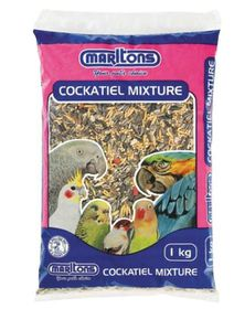 Marltons Cockatiel Seed  - 1kg