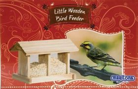Marltons Wood Bird Feeder - Rectangular