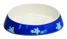 Rogz Fishcake Melamine Cat Bowl - Blue