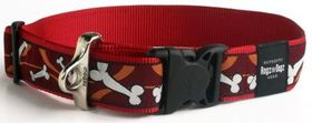 Rogz - Fancy Dress 2 x Extra-Large Special Agent Dog Collar - Red