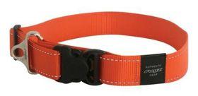 Rogz - Utility 2 x Extra-Large Landing Strip Dog Collar - Orange